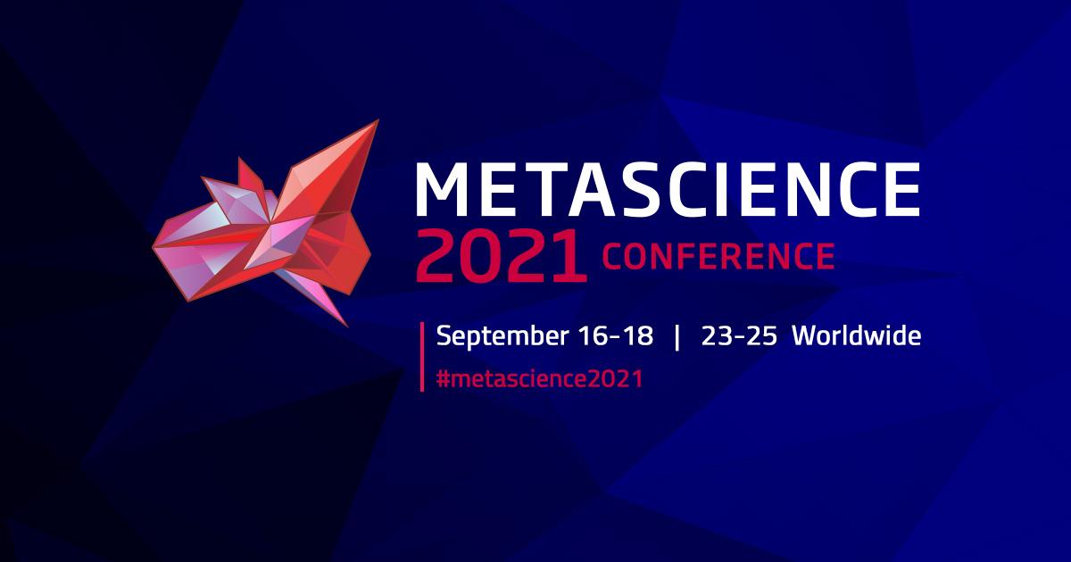 Metascience, Sept 2021